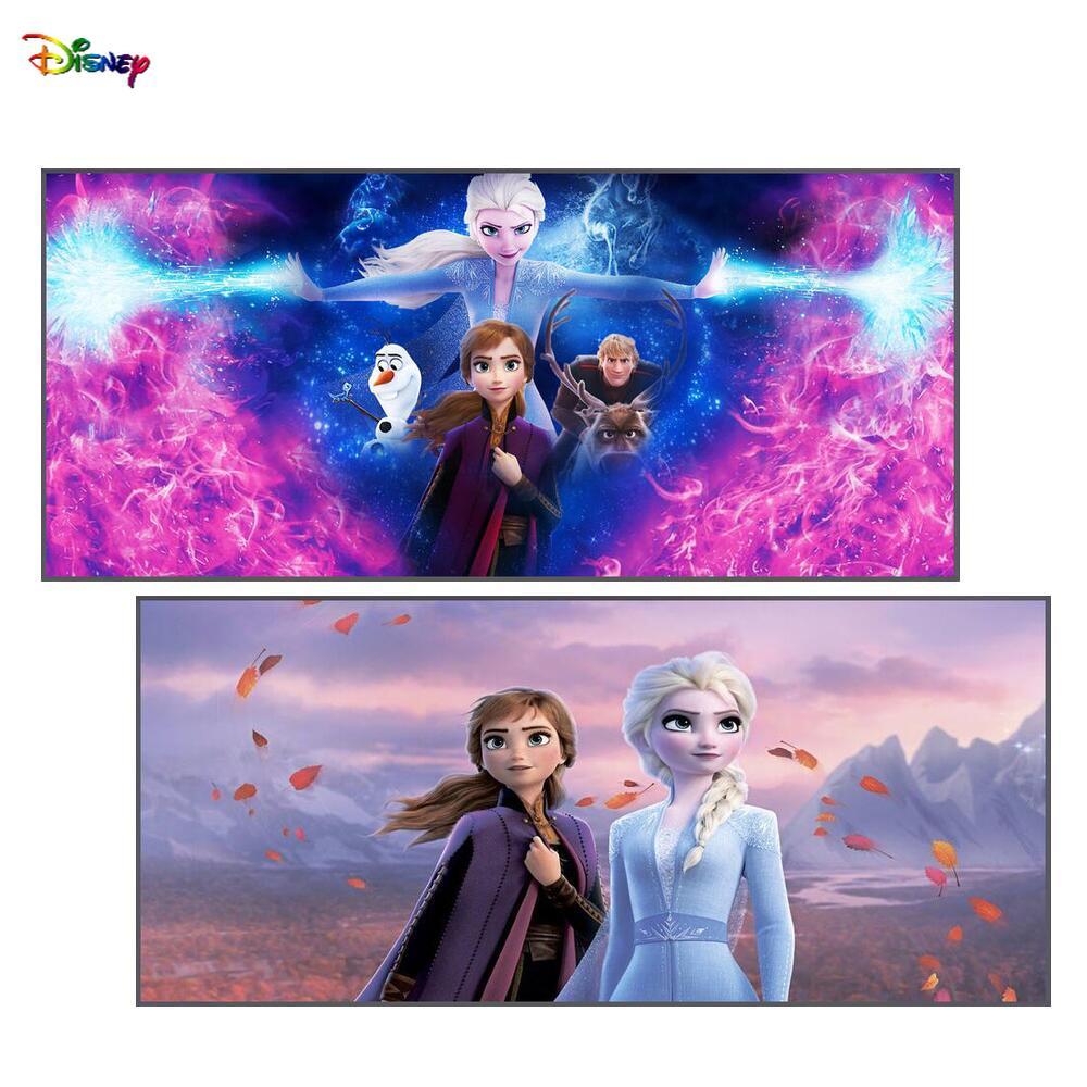 Милый игровой коврик для мыши с изображением ледяной принцессы, компьютерные коврики для компьютерной мыши, коврик для мыши, rgb, аксессуары ...