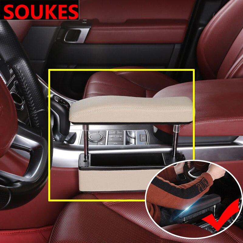 Coche aumento compartimento de almacenamiento de apoyabrazos Central Renault Megane 2 Duster Clio Honda Civic Fit VW touareg mk7 MK5 Mazda 3 6 CX5