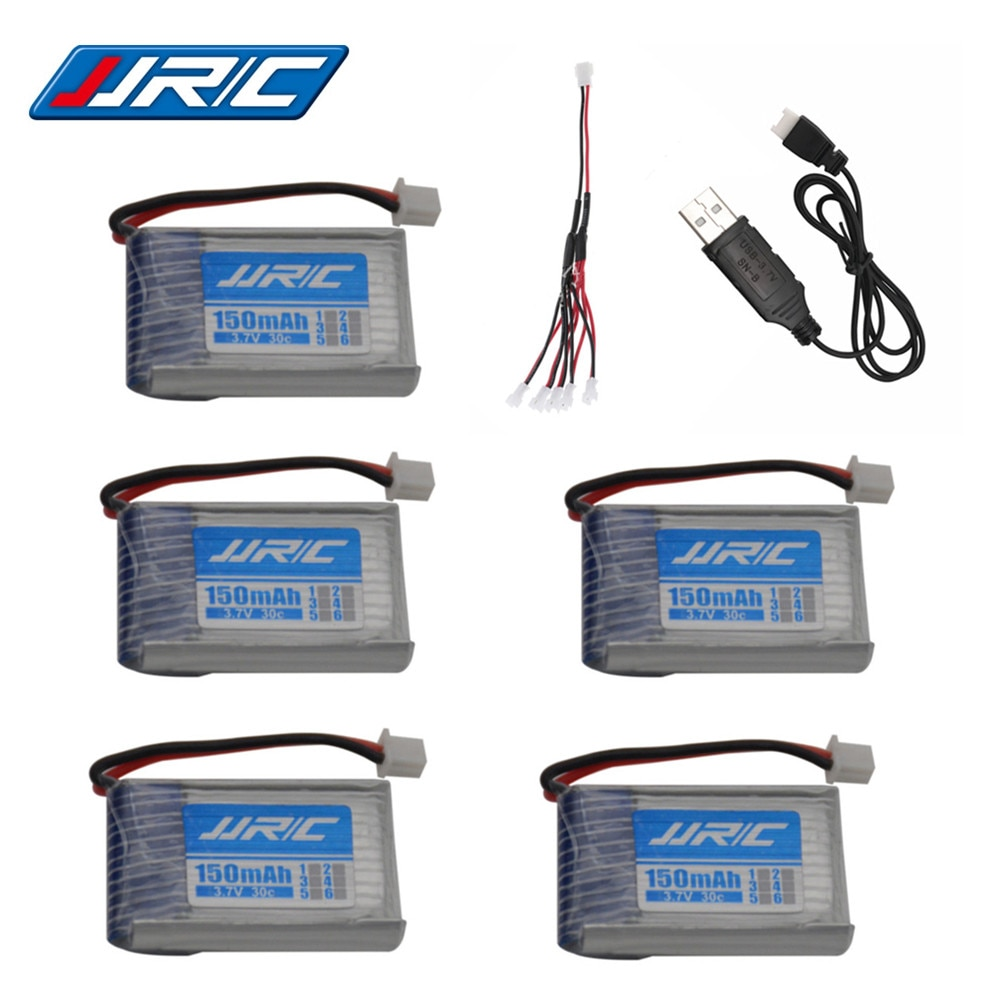 Original JJRC H20 de la batería de 3,7 V 150mAh para JJRC H20 Syma S8 M67 U839 RC Quadcopter piezas de 3,7 V Lipo batería y cargador usb