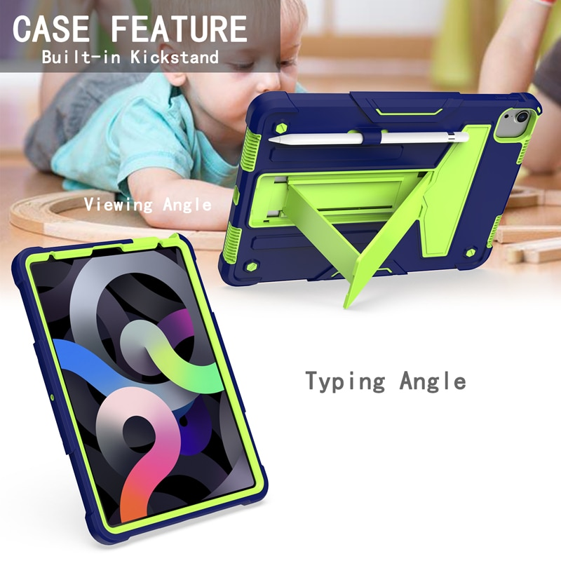 A2231 For 11 (A2228 2020 pro Shock A2068 iPad 11 Heavy Proof Protective Case A2230) Duty inch