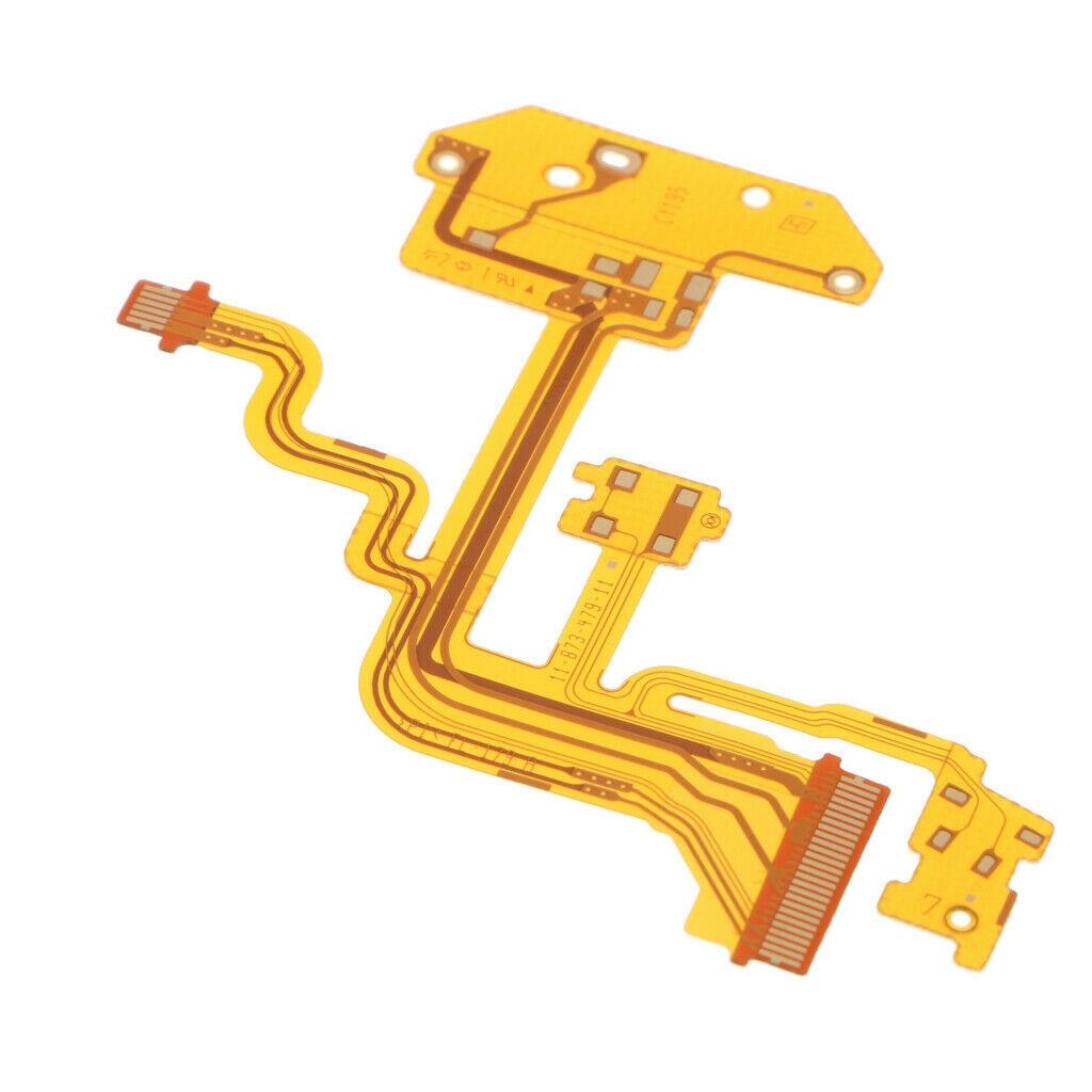 Flash Flex Cable Ribbon Repair Part for Sony Cyber-shot DSC-H3 DSC-H10 Camera