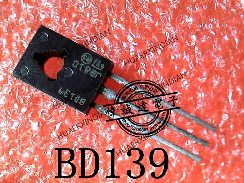 1 piezas nuevo Original BD139 ST TO-126 en stock imagen real
