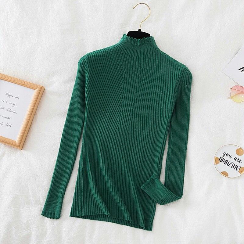 ульмер бабетте вяжем спицами свитера пуловеры джемперы модели на любой вкус Вязаные женские водолазки с оборками, свитера, пуловеры, повседневные однотонные осенне-зимние женские свитера, тонкие теплые джемперы с дл...