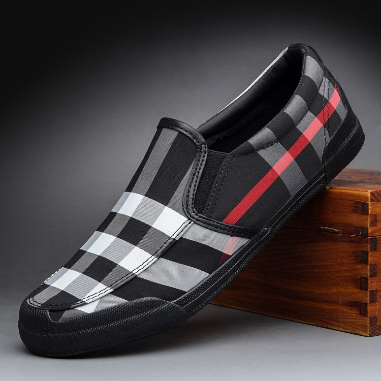 Sapatos de Lona para Homens Sapatos de Moda Sapatos de Condução 2021 para Homens Jovens Sapatos Casuais Apartamentos Marca Moda Masculina