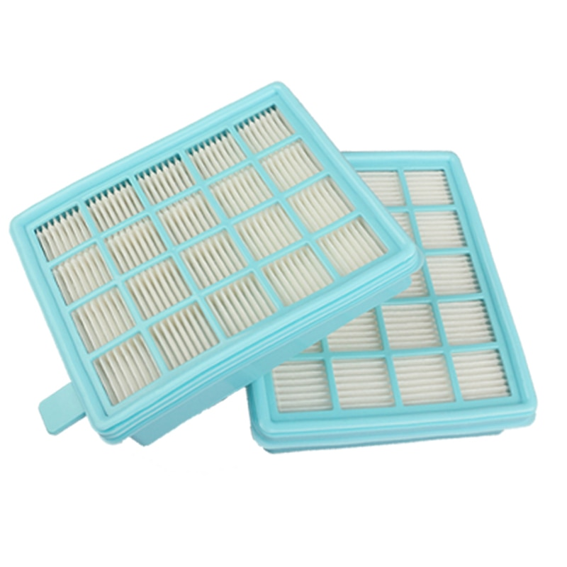 2 uds filtro hepa para philips FC8470 FC8471 FC8472 FC8473 FC8474 FC8476 FC8477 vacío piezas de limpiador hepa Filtros con algodón kit