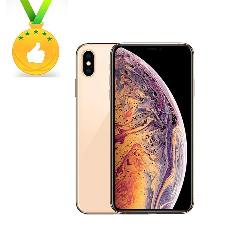 """95% new Original Apple iPhone XS Max 6.5"""" Retina OLED Display 4G LTE 2658mAh A12 Bionic Chip 4G RAM 64GB/256GB/512GB ROM"""