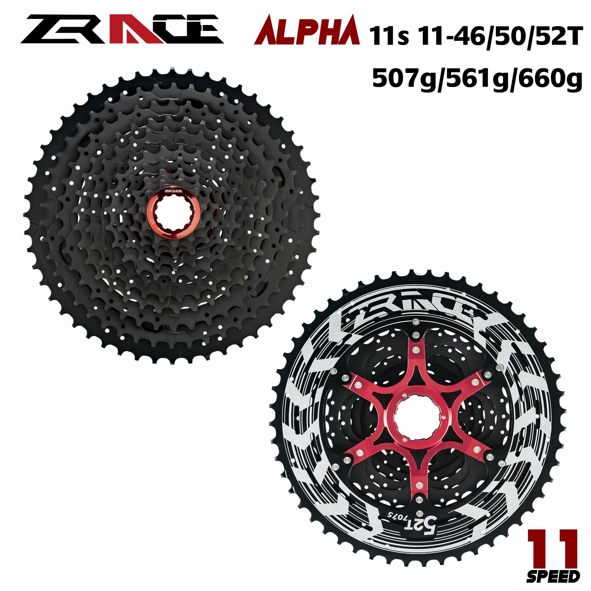 ZRACE alfa 11s Cassette MTB 11 velocidad 11-46 T/50 T/52 T