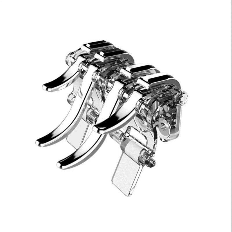 Metal for PUBG Game Controller Gamepad Mobile Joystick Trigger Aim Shooting L1 R1 Key Button Joystic