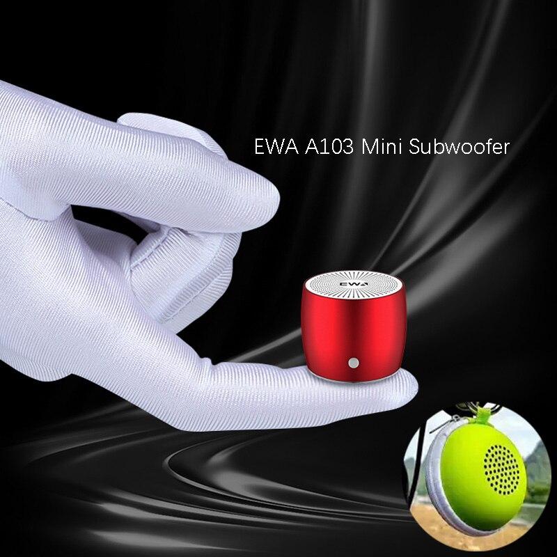 EWA-altavoz portátil A103 con Bluetooth, Subwoofer inalámbrico de graves para exteriores, Boombox,...