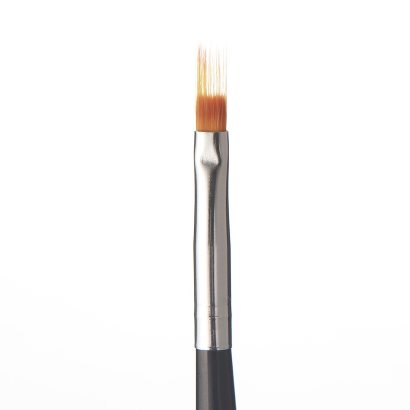 1Pcs Nail Art Gradient Uneven Brush Pen Nylon Hair Gel Polish Tips Serrated jagged Drawing Painting Black Wood DIY Tool Manicure