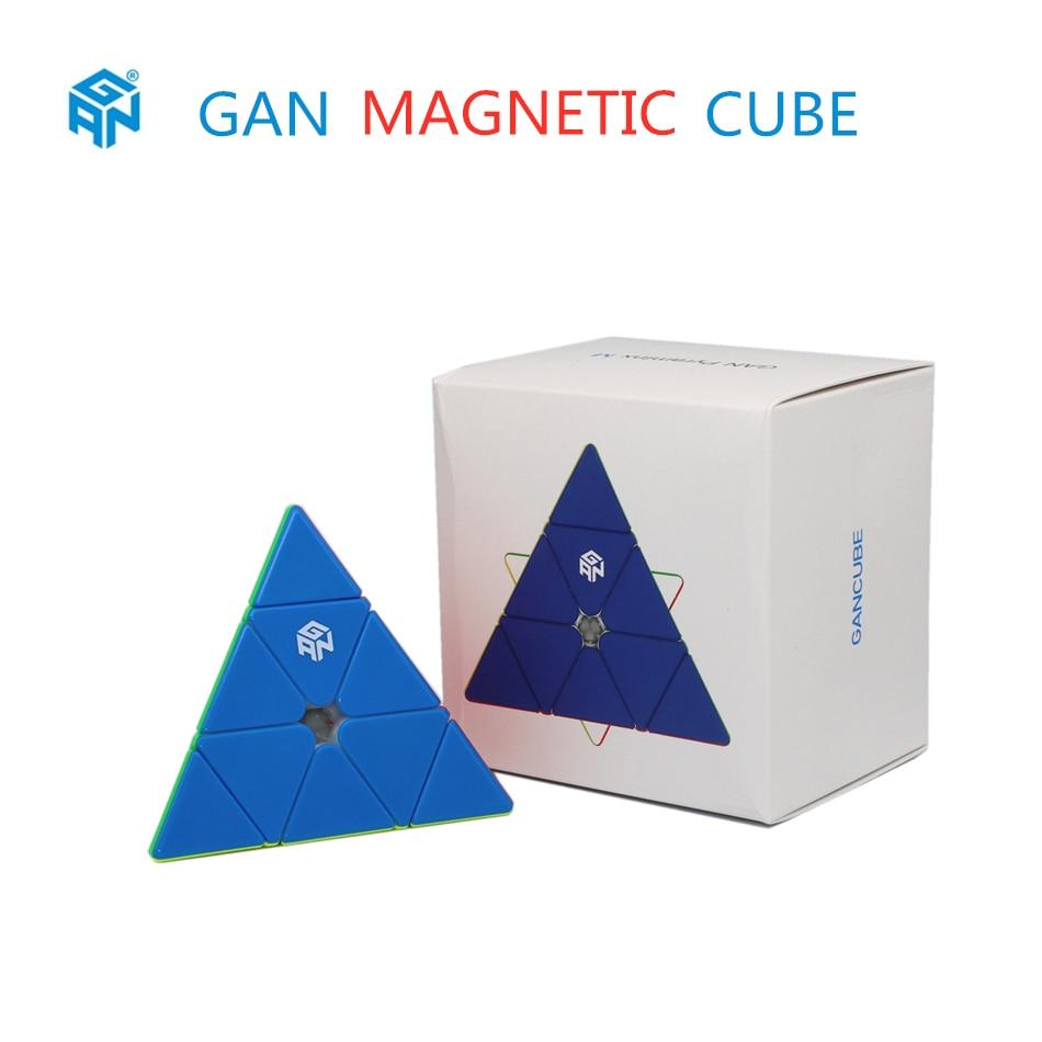 gan cubes gan 3x3x3 magnetic pyramid cube cubos gan 3x3x3 piramide magnetica cubo