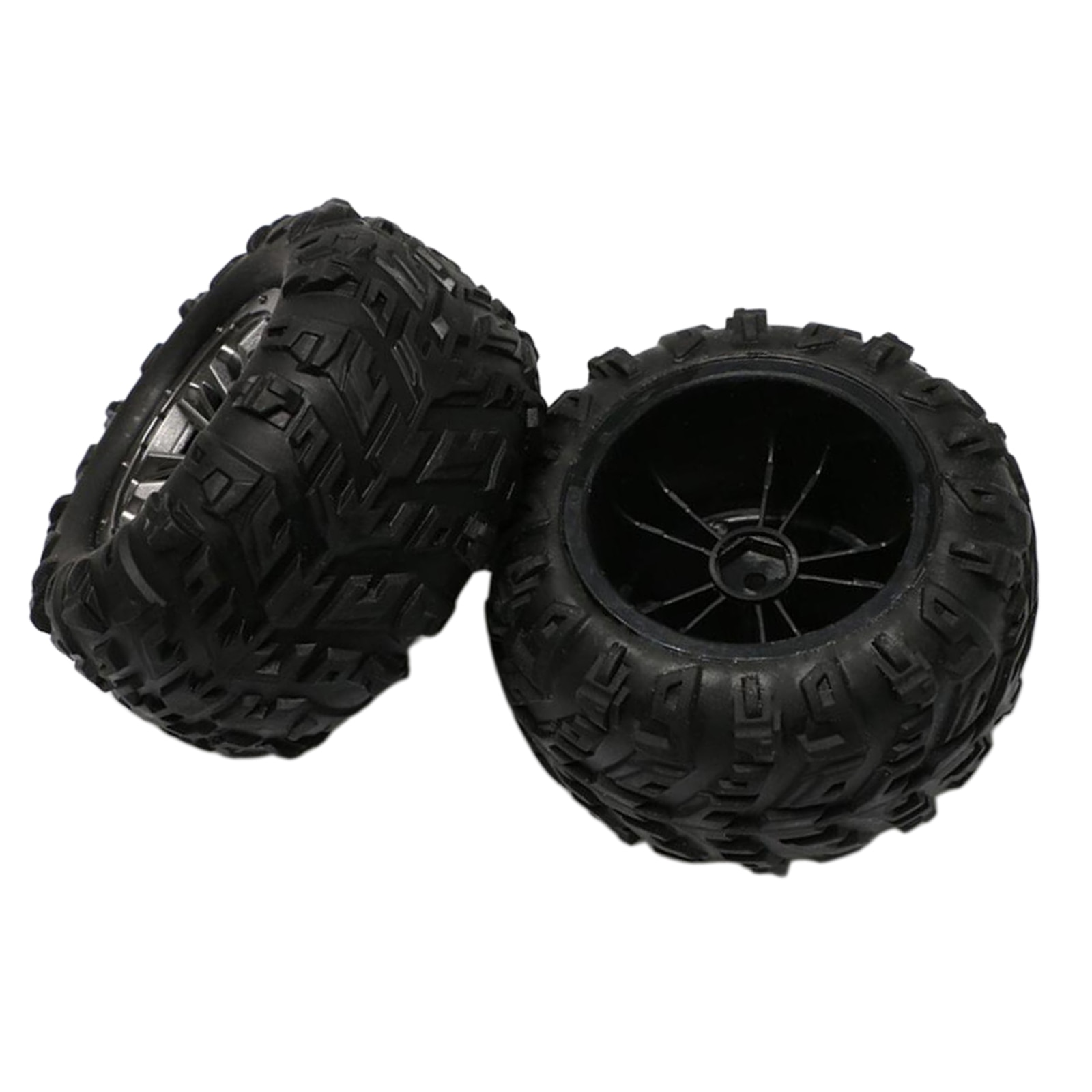 Rubber Tyres Wheel Assembly for for Feiyue 1:12 FY01 FY02 FY03 FY04 RC Cars enlarge