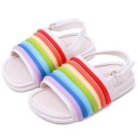 Mini Melissa Carton Girls boys Sandals Children Candy Animal toddler baby boy Children's PVC kids jelly shoes SH144