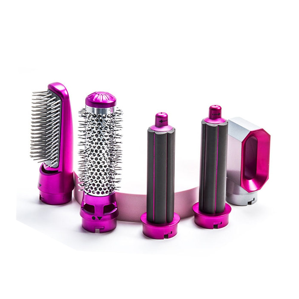 Comb Curling Brush One Step Hair Dryers For Hair Styling Tool enlarge