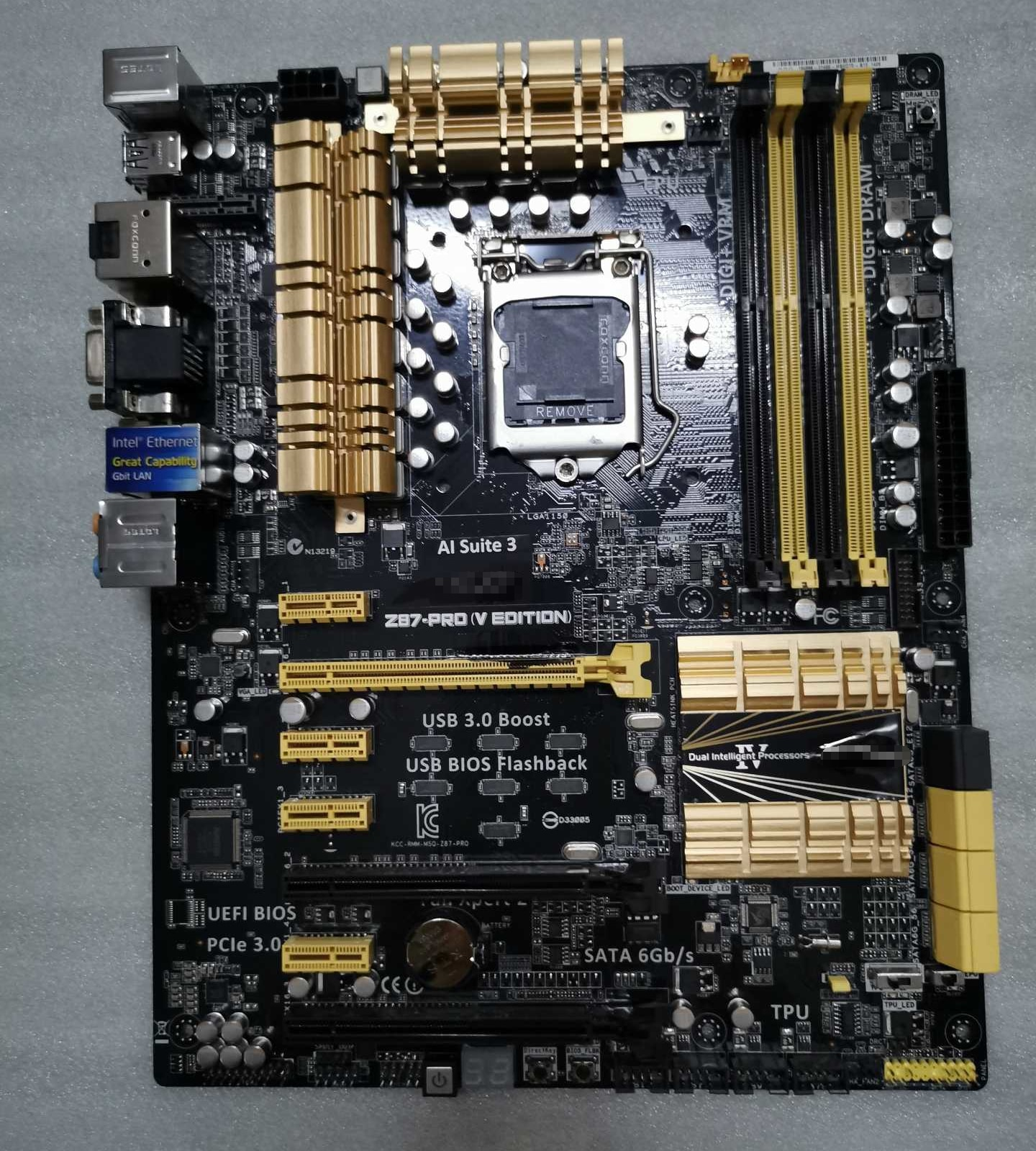 Z87-PRO  Z87-PRO(V EDITION)  for ASUS 1150 DDR3 Desktop Motherboard