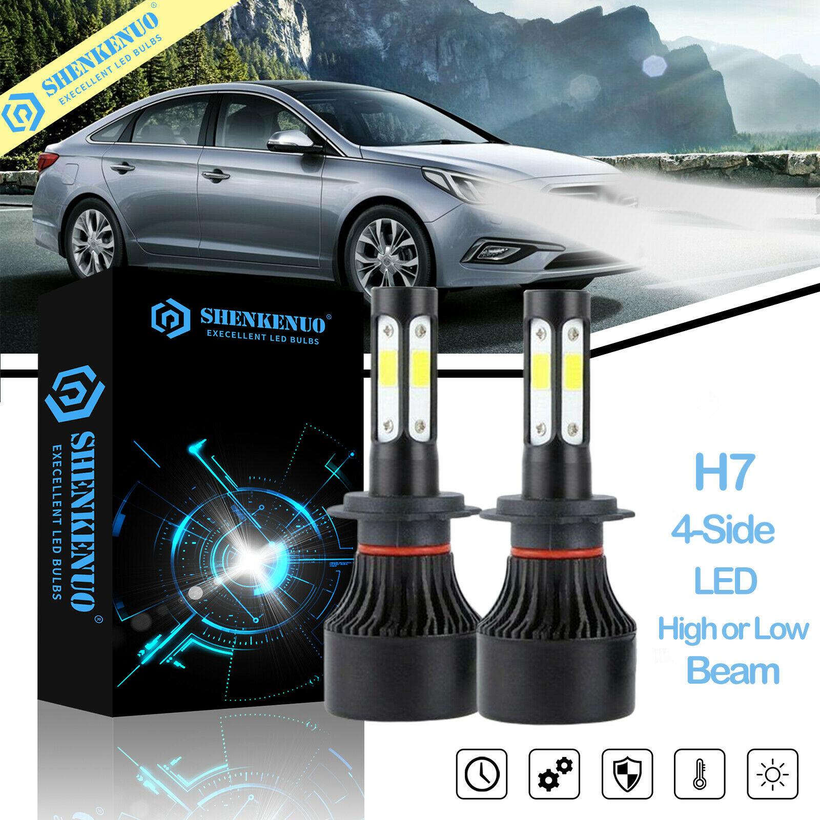 Para Hyundai Tiburon 2003-2006 Combo LED faro alto bajo haz de luz antiniebla