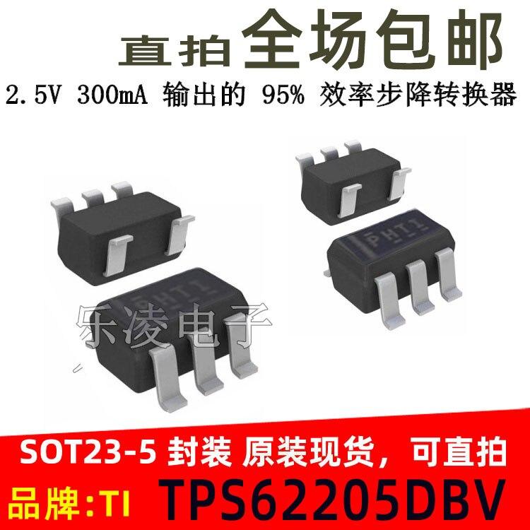 شحن مجاني PHTI TI TPS62205DBVR TPS62205DBVT DBV TPS62205 10 قطعة