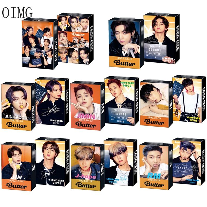 kpop lomo card bangtan boys album map of the soul persona member photocard set 30 cards 30pcs/box Kpop Bangtan Boys Lomo Card Set Photocard Photo New Album Korean Fashion Cute Boys Group Poster Picture Fans Gifts