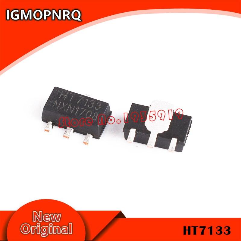 10 Uds HT7133A-1 SOT89 HT7133A SOT HT7133 SMD HT7133-1 SOT-89 7133-1 nuevo original IC