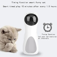 led automatic laser pet toy intelligent automatic cat sports training fun rotating toy multi angle usb battery dual use toy