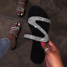 Tongs pour femmes, sandales dété plates, chaussures en gelée douce et transparentes, sandales dextérieur pour la plage, grande taille, 38 #