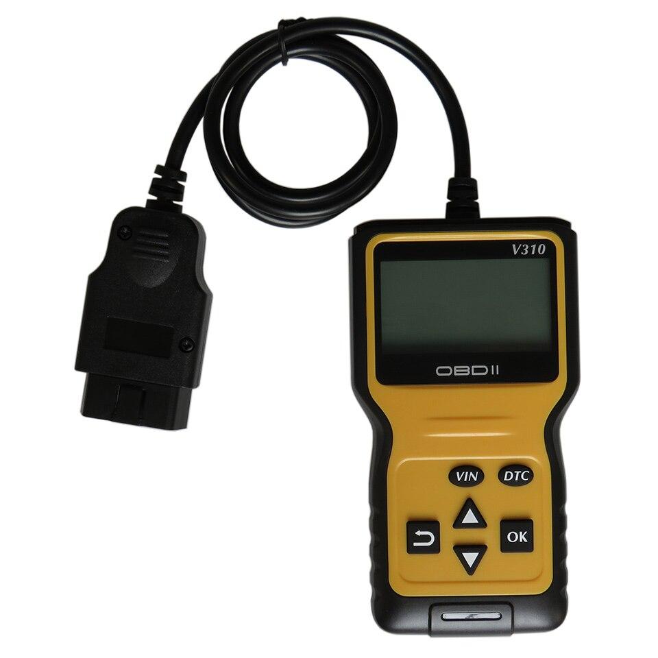 Автомобильный диагностический сканер ошибок двигателя V310 OBD2, диагностические инструменты V 310 EOBD OBD, автомобильный считыватель кодов, диагн...