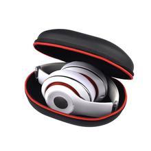 سماعة حالة حقيبة المحمولة سماعة سماعة الصلب صندوق تخزين ل يدق سولو 2 3 ستوديو 2.0 لسوني بلوتوث حقيبة سماعة الاذن