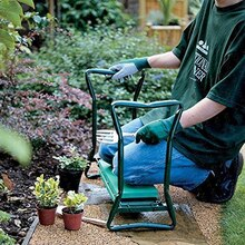 2019 nouvelle offre spéciale multifonction pliant jardin genouillère et siège avec Bonus outils pochettes portant 150KG TV produits