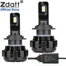 Zdatt H7 6000 phares de voiture H4 100   Lampes glaces pour voitures K H1 en style H11 Canbus W 12000LM 12V