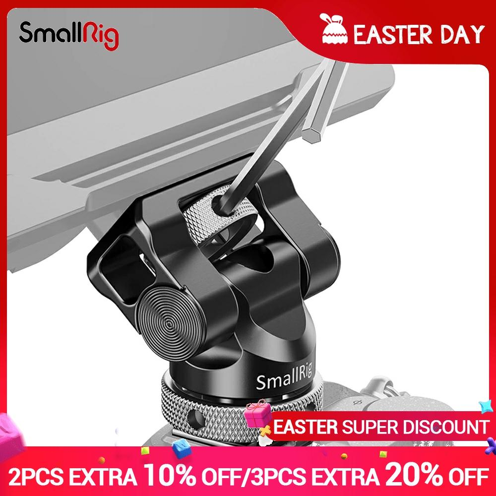SmallRig-montaje Universal de Monitor giratorio y de inclinación, con zapata fría, para...