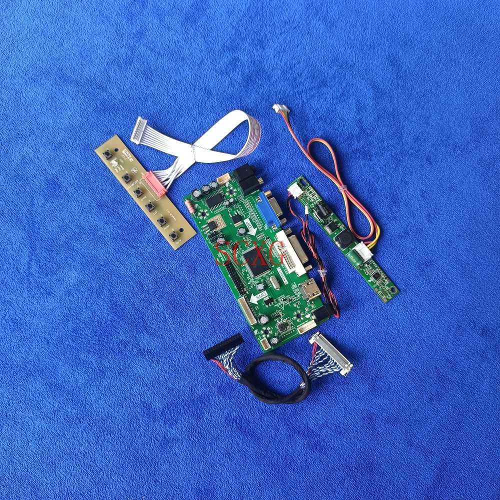 ل LTM270HP01/LTM270HT03 LVDS 30 دبوس رصد HDMI متوافق VGA DVI MNT68676 محرك تحكم المجلس لتقوم بها بنفسك عدة LCD/LED 1920*1080