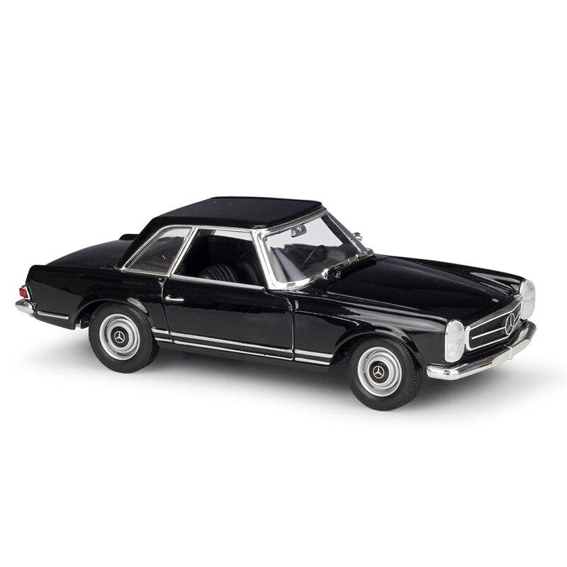 Welly 124 boîte dorigine 1963 230SL modèle de voiture moulé sous pression jouet véhicule modèle de voiture modèles enfants voiture boîte dorigine