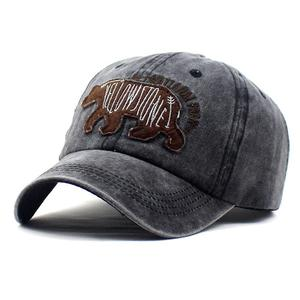2021 four seasons Cotton Animal embroidery Casquette Baseball Cap Adjustable Snapback Hats for men and women 123