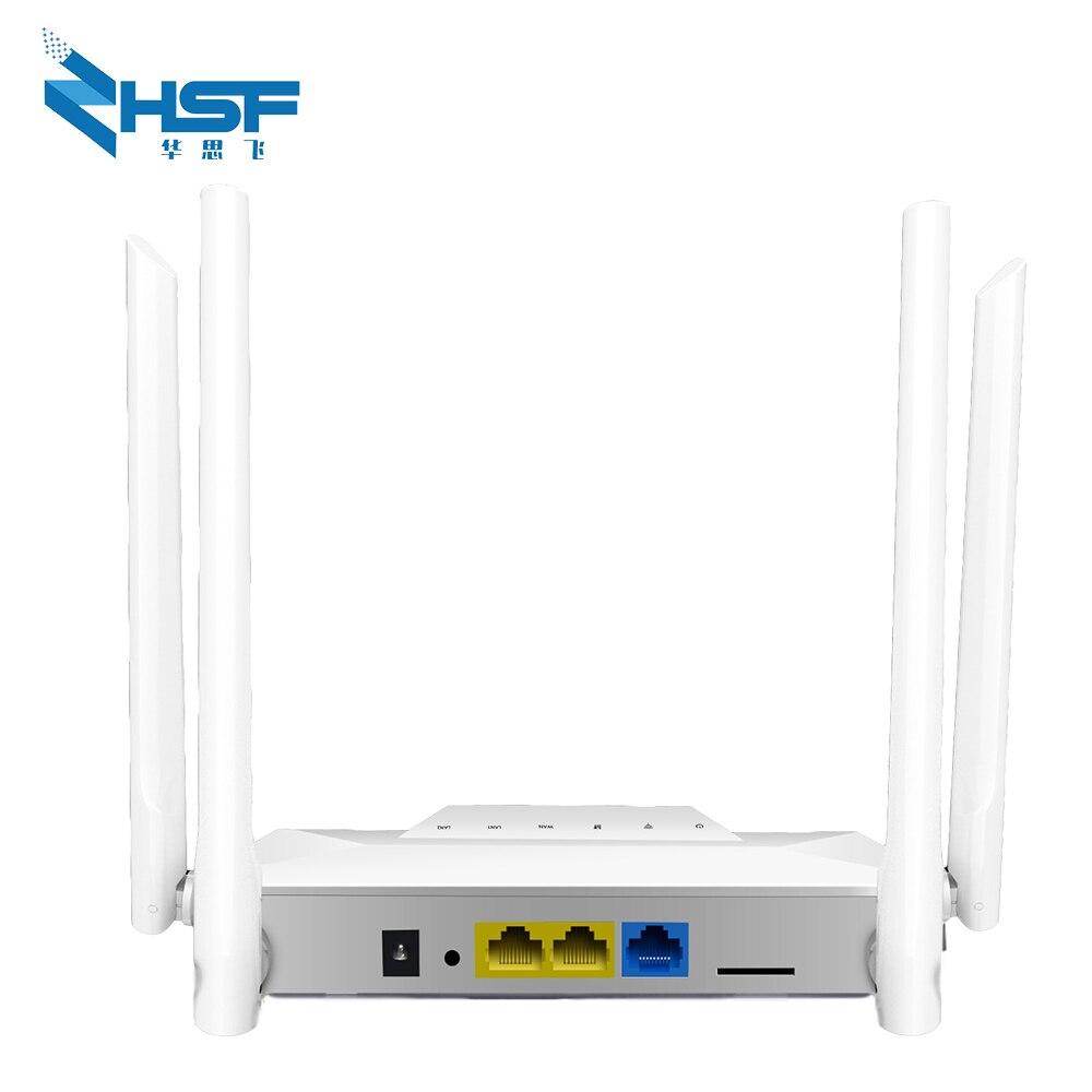 Разблокированные Wi-Fi роутеры 300 Мбит/с, мобильный роутер CPE 4G LTE со слотом для SIM-карты, глобальная разблокировка, внешние антенны, беспроводна...