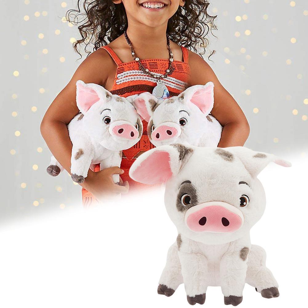 Nueva película de alta calidad suave animales de peluche Moana mascota cerdo Pua lindo juguete de peluche de animales de peluche muñecas niños cumpleaños regalo