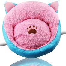 Nid de chat chenil chien maison en automne et en hiver maison pour animaux de compagnie petit nid pour animaux de compagnie chat oreille chien nid chat lit adapté pour fournitures pour animaux de compagnie