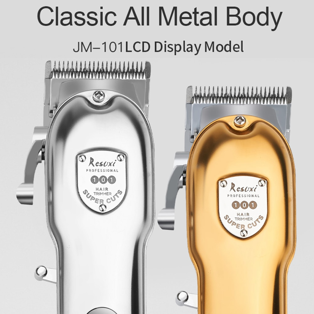 Professional Barber Hair Clipper Electric T-Outliner Cutting Machine Beard Trimmer +Electric Shaver Razor Cordless Beard Trimmer enlarge
