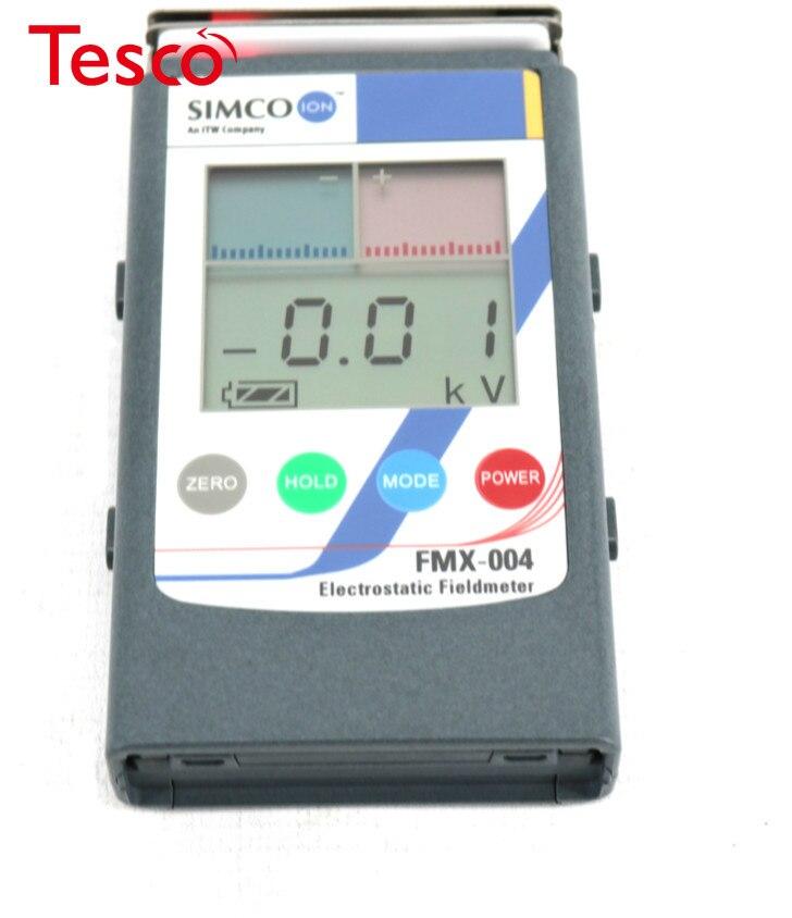Medidor de campo electrostático FMX-004 Original SIMCO, medidor de prueba ESD, probador electrostático