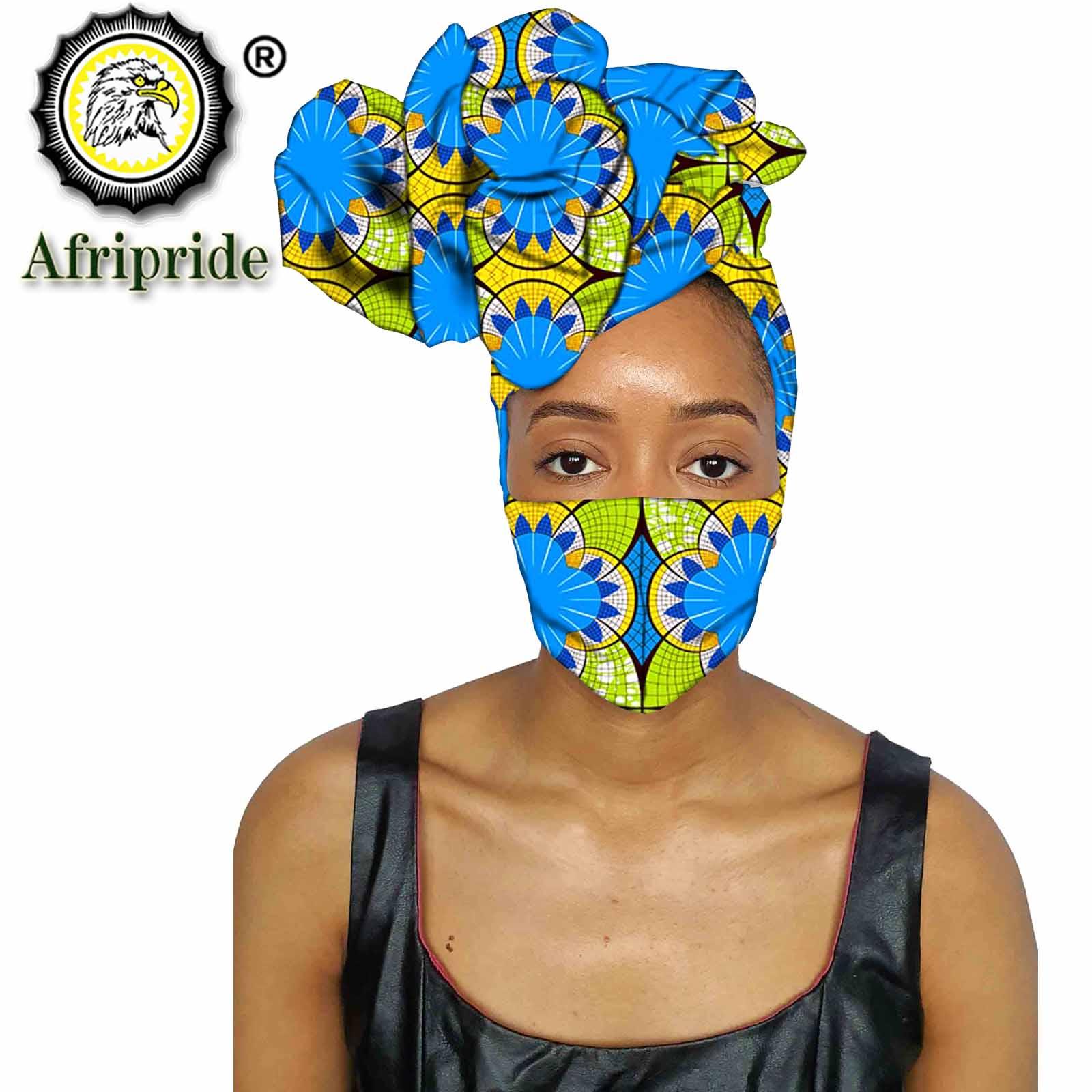 أنقرة باندانا أفريقي ، وشاح رأس مصنوع يدويًا ، شمع قطني ، طباعة مطابقة ، قماش مطبوع S20H009