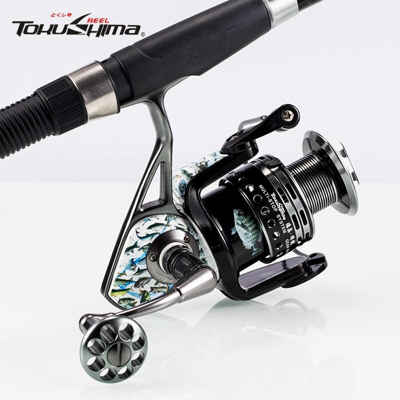 TOKU SHIMA amber FI fishing reel full metal fishing line round sea bream round fishing wheel road spinning wheel rock fishing wh