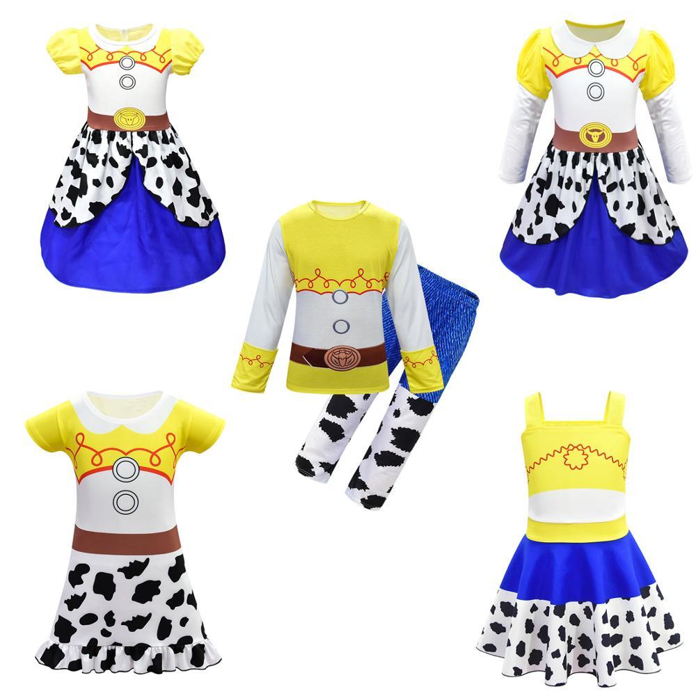 Película Toy Story 4 vestido de Cosplay disfraz Toy Story traje uniforme para Cosplay disfraces de Halloween niños niñas vestido de fiesta o baile