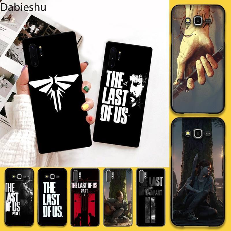 The Last Of Us Black TPU Soft Phone Case For Samsung Galaxy Note20 ultra 7 8 9 10 Plus lite J7 J8 Pl