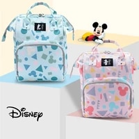 disney baby diaper bags large capacity mother organizer maternity travel baby stroller insulated bag mickey diaper bags backpack