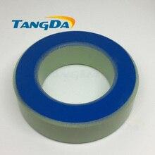 T350-52 Tangda 54.4   Inducteur de noyaux dalimentation en fer, 89*25.4 * mm, noyau de bague en ferrite revêtu vert bleu A