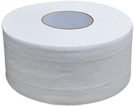 Rollo de papel de baño para el hogar, rollo de papel gigante para el baño, papel higiénico blanco de 1000 hojas para el hogar