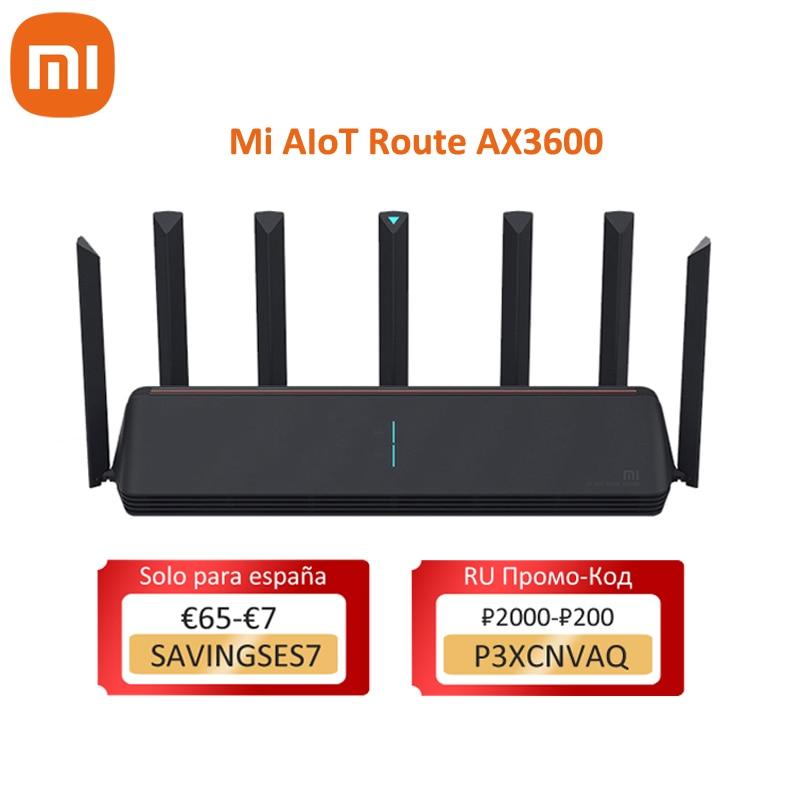 Xiaomi AX3600 Mi AIoT Router Wifi 6 5G Dual-Band 2976Mbs Gigabit Rate Qualcomm A53 External Signal Amplifier