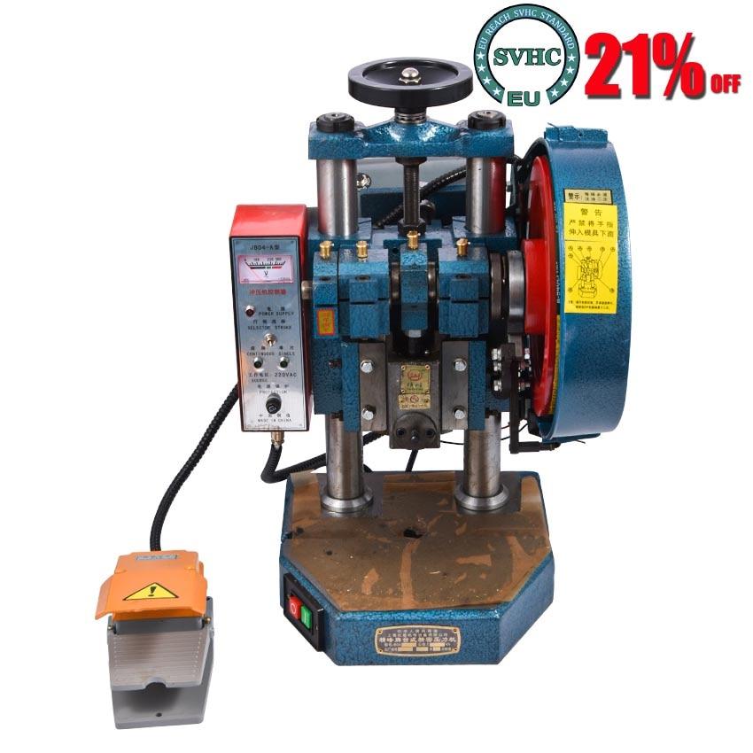ماكينة ثقب الكهربائية الجديدة دواسة دليل مزدوج الغرض اللكم الصحافة ماكينة ثقب سطح المكتب الصغيرة JB04-1T 220 فولت/380 فولت 370 واط