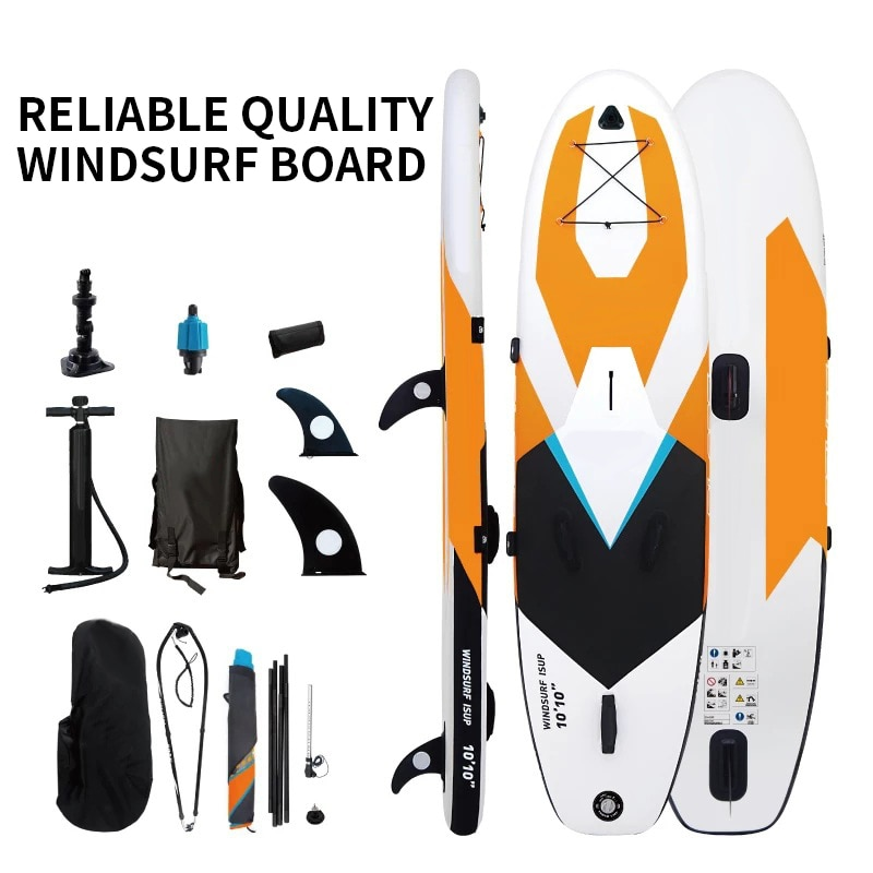 Tabla de windsurf Kiteboard SUP inflable Sailboard Stand Up Paddle Boards agua deporte remo de surf de Kayak surf caliente
