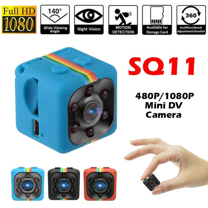 SQ 11 Mini Camera HD 1080P Sensor Night Vision Camcorder Motion DVR Micro Camera Sport DV Video SQ 1