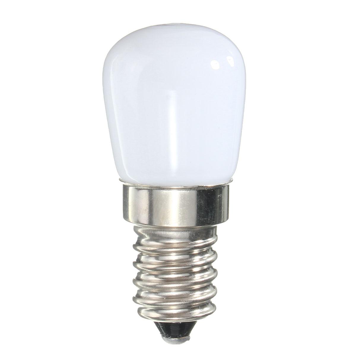 220V Mini E14 COB LED Light Blub 2835 SMD Glass Lamp for Refrigerator Fridge Freezer Sewing Machine Home Lighting